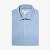 Lightweight Leeward Dress Shirt - Blue Orange Check, featured product shot