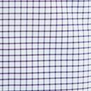 Lincoln Purple & Light Blue Gingham Performance Dress Shirt