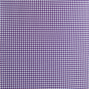 Grant Dark Purple Gingham Performance Dress Shirt