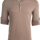 Mohican Taupe Henley