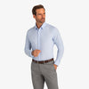 Leeward Formal Dress Shirt - Light Blue Solid, lifestyle/model photo