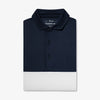 Navy White Color Block Image