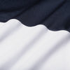 Phil Mickelson Polo - Navy White Color Block, fabric swatch closeup