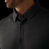 Cunningham Dress Shirt - Black Heather, lifestyle/model photo