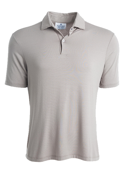 """Sir Barton"" Flint Gray Polo"
