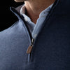 Fairway Pullover - Navy Heather, lifestyle/model photo
