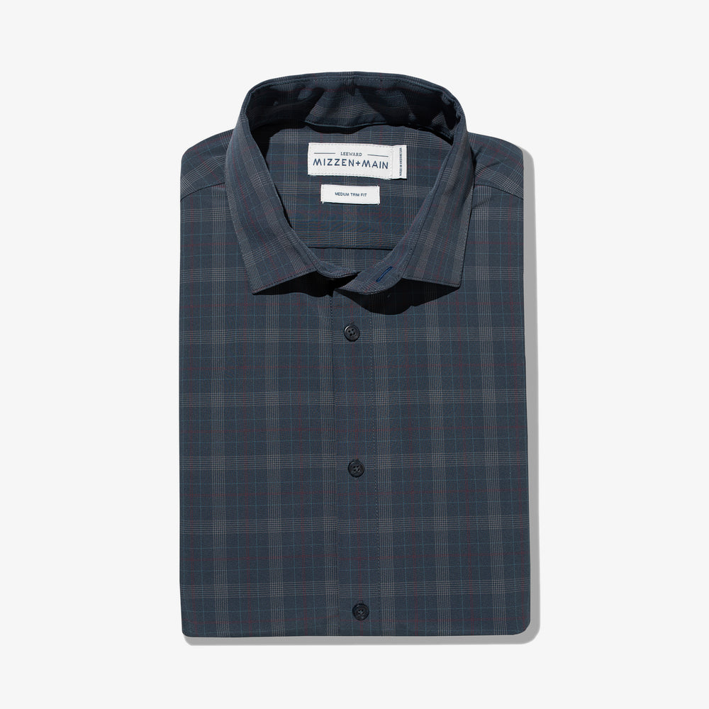 Leeward - Navy Multi Plaid, featured product shot