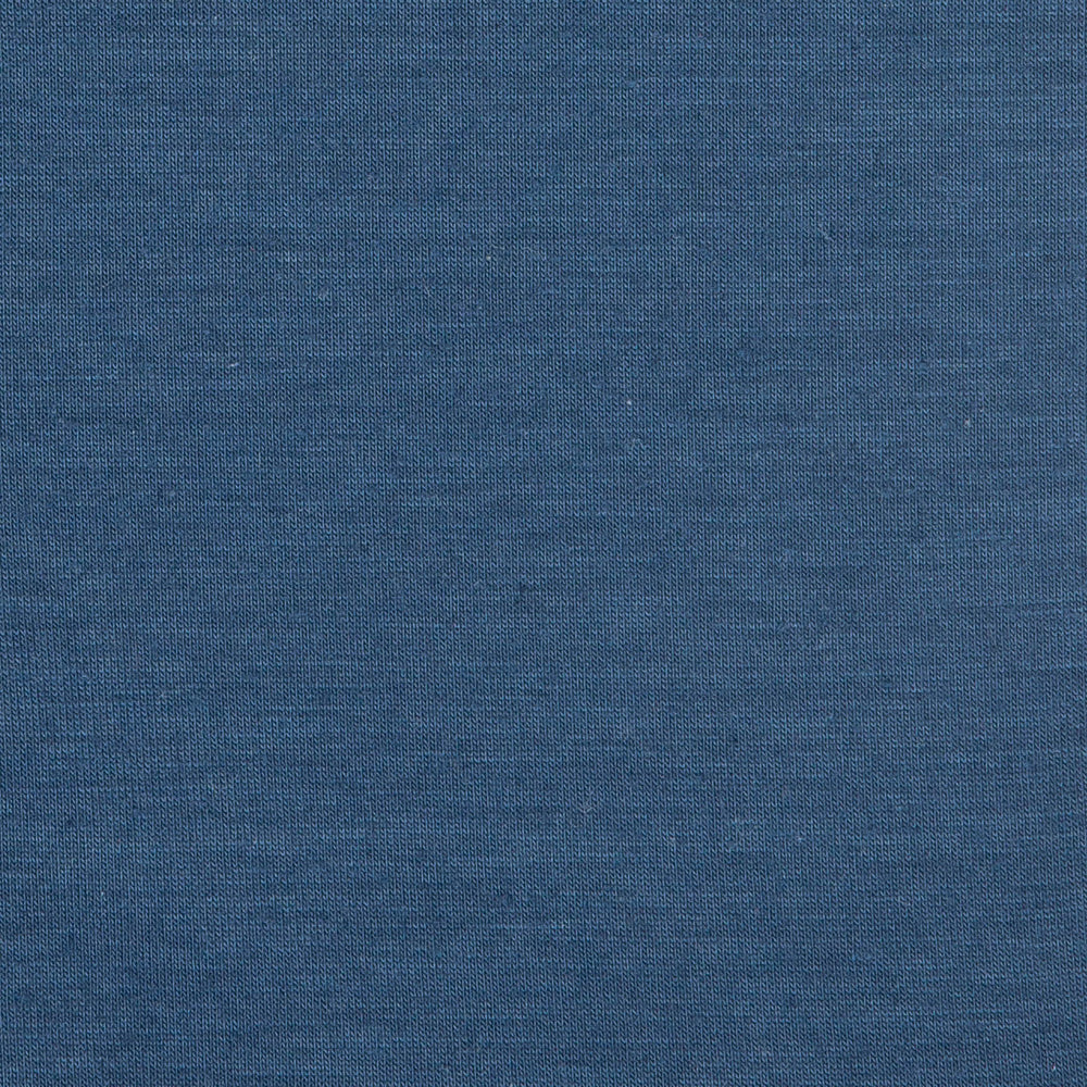 Tigua - Navy Short Sleeve Henley, fabric swatch closeup