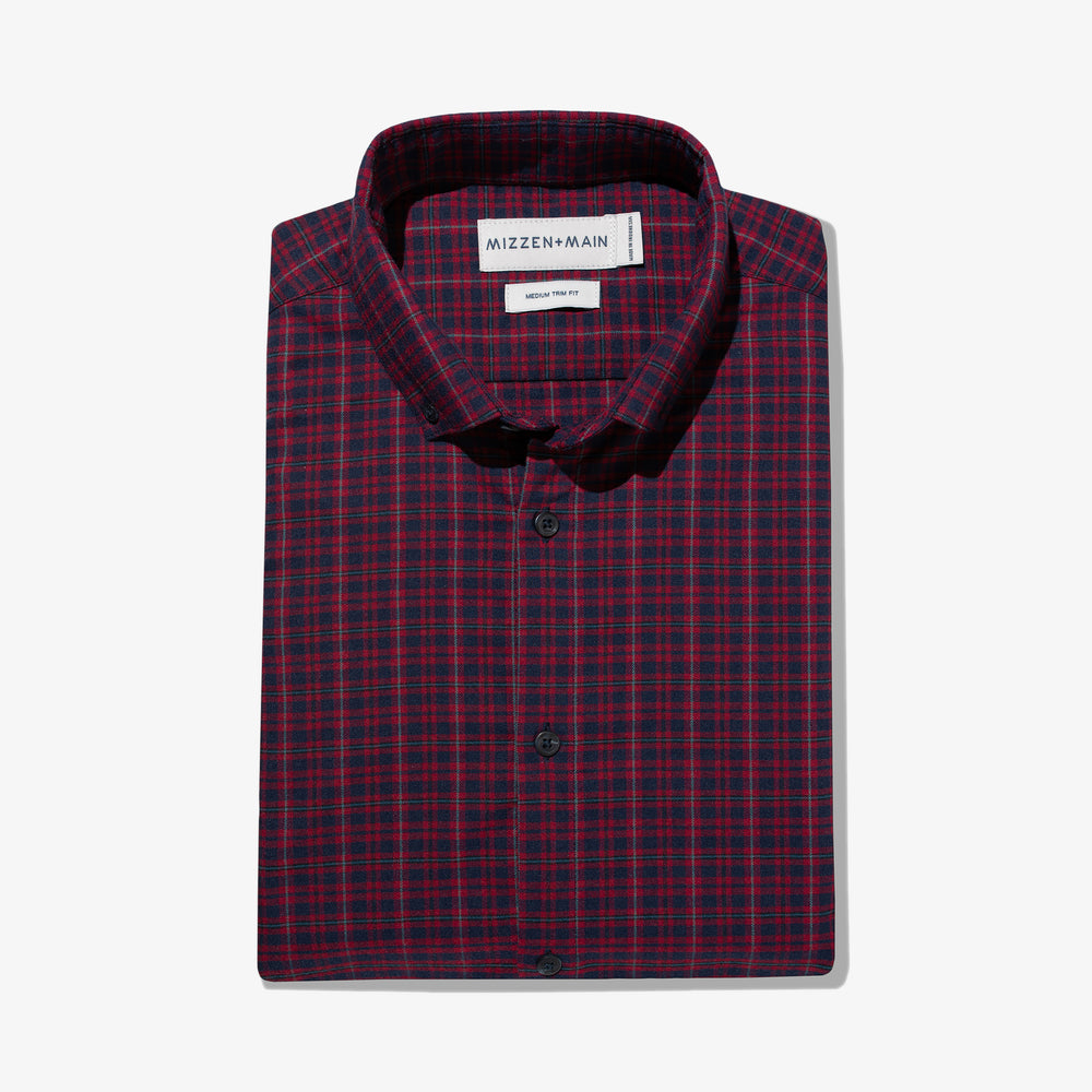 Wallace - Red Navy Plaid, featured product shot