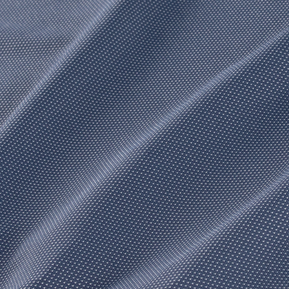 Woolworth - Navy Knit, fabric swatch closeup