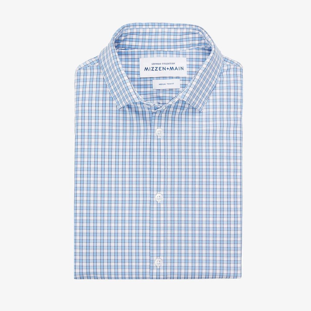 Alexander - Light Blue Check, featured product shot