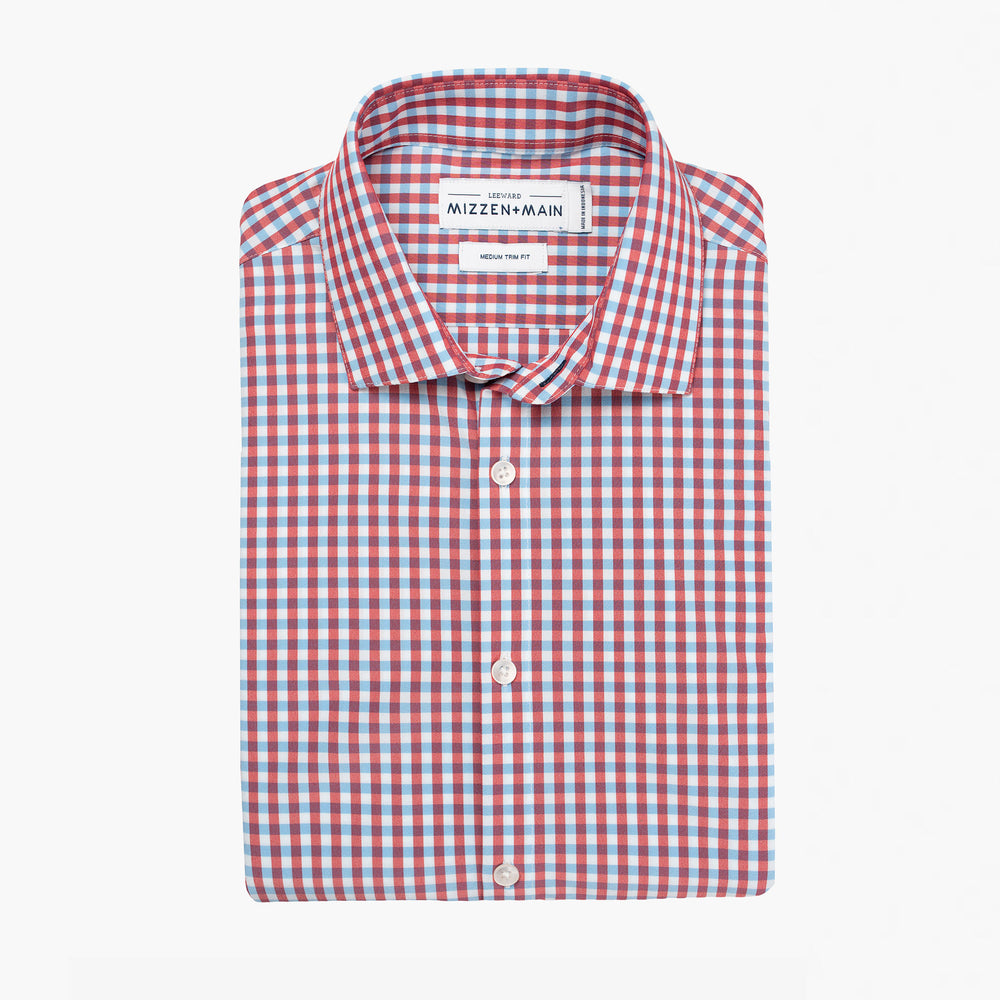 Leeward - Red White Blue Check, featured product shot