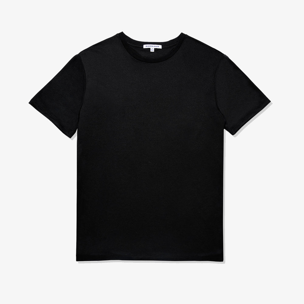 Luxe Tee - Black, featured product shot
