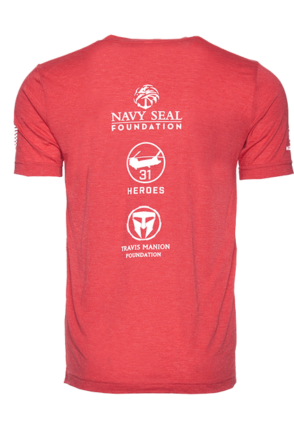 """The Remember Everyone Deployed"" Red Premium Comfort T-Shirt"