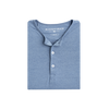 Heathered Slate Blue Henley