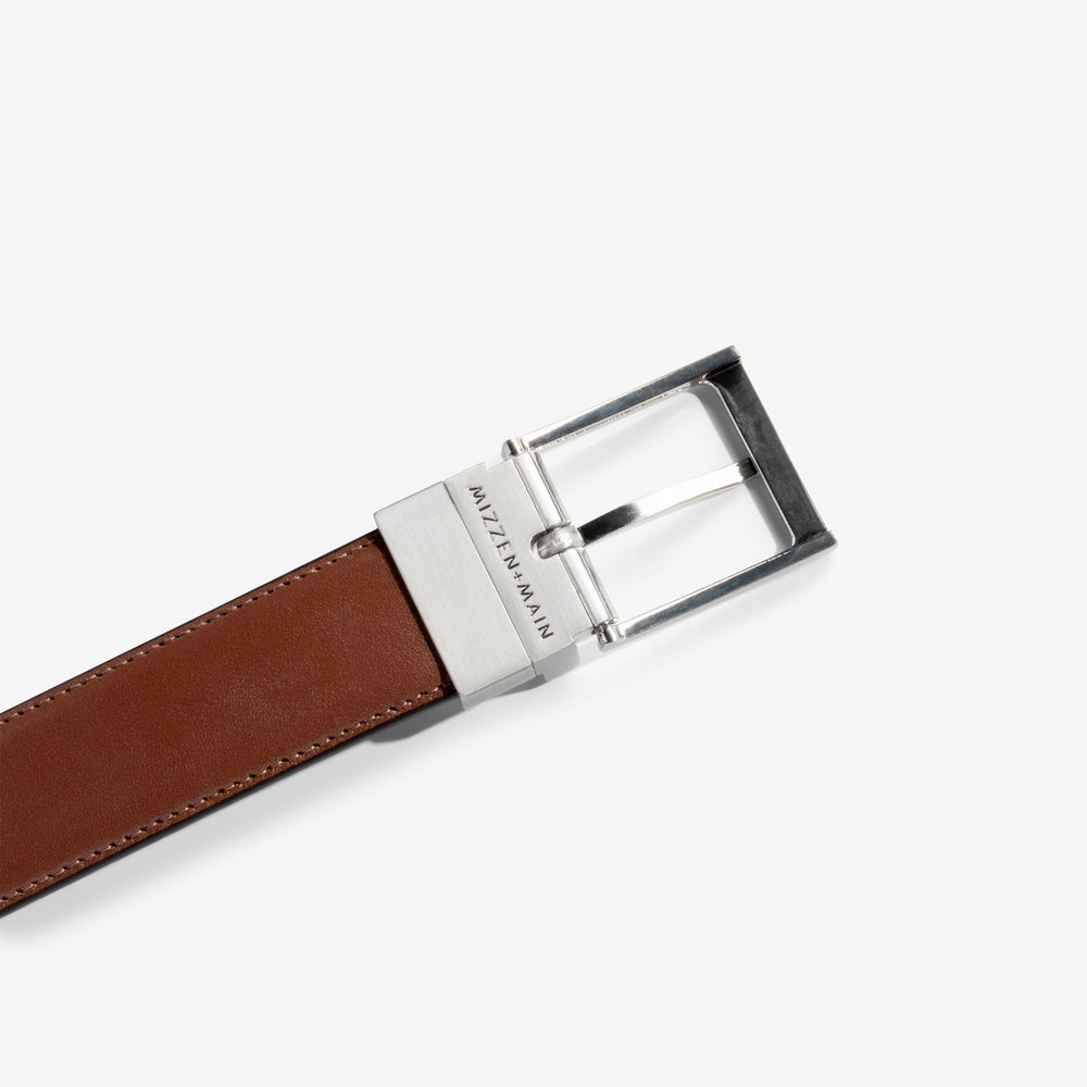 Belt - Black / Brown, lifestyle/model photo