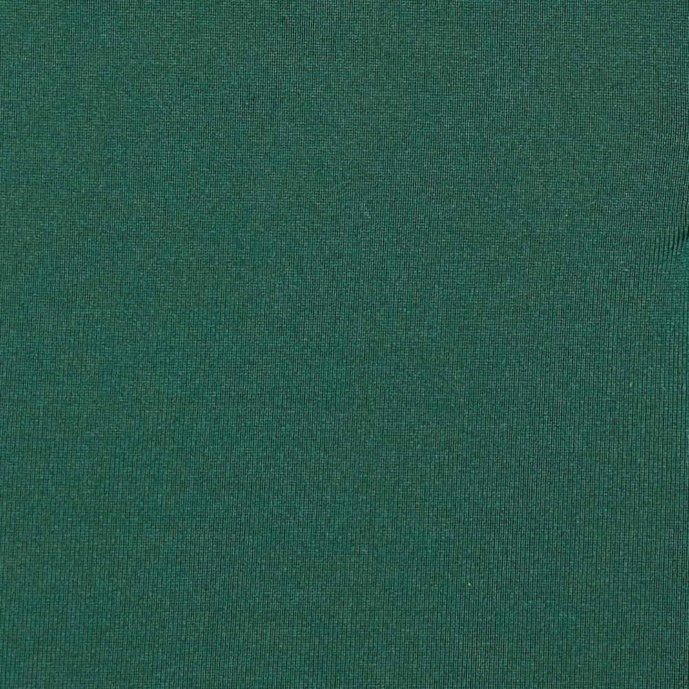 Phil Mickelson Golf Polo - Dark Green, fabric swatch closeup