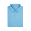 Heathered Azure Blue Polo
