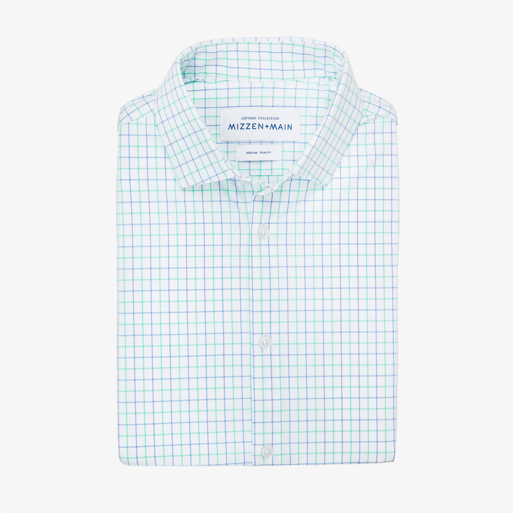 Leeward - Light Green Check, featured product shot