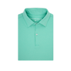 Heathered Light Green Polo