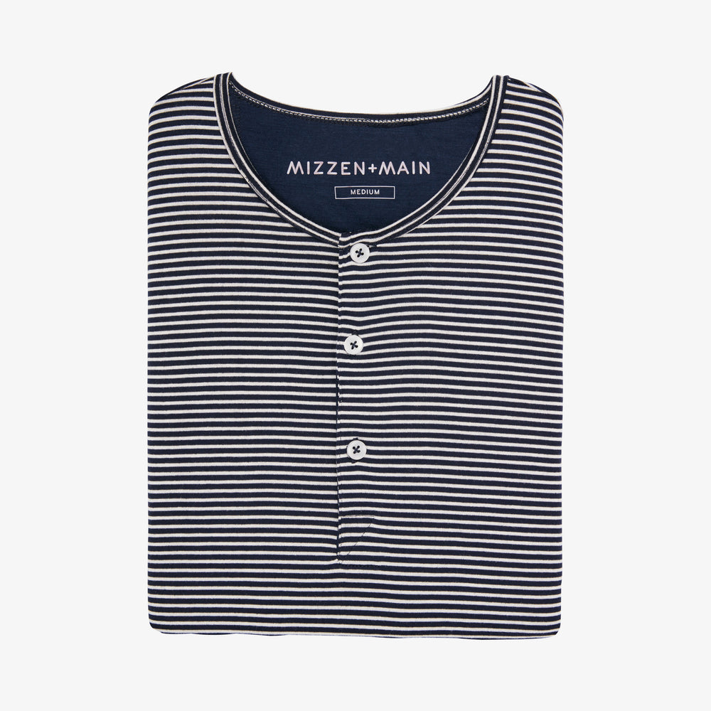 Knott - Navy Horizontal Stripe, featured product shot