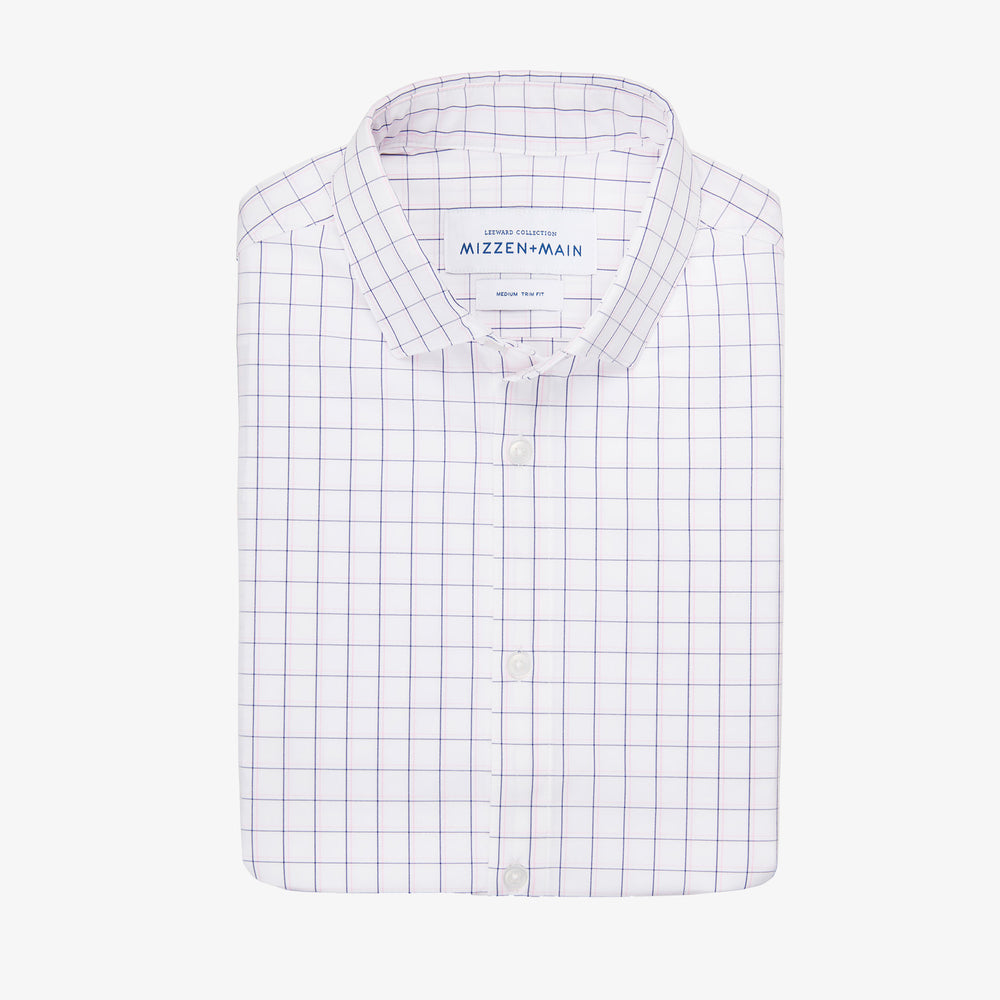 McCall - White Multi Check, featured product shot