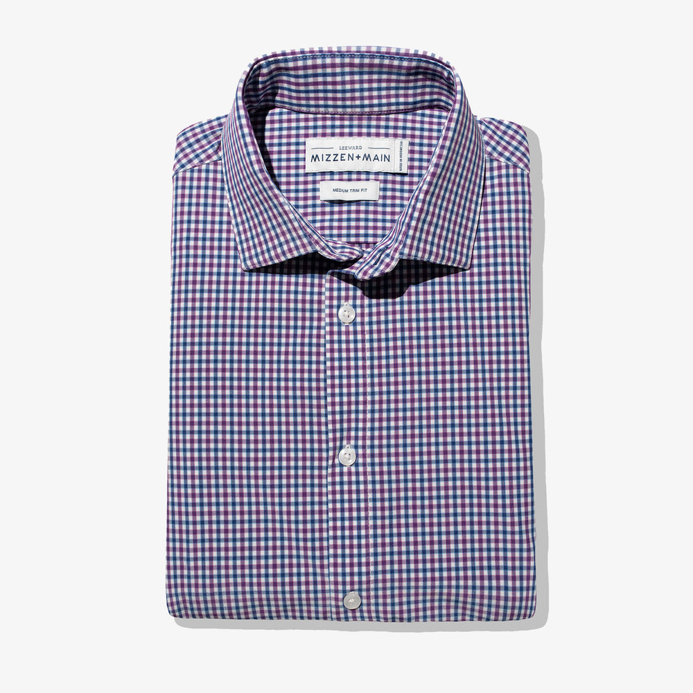 Leeward - Purple Blue Multi Check, featured product shot