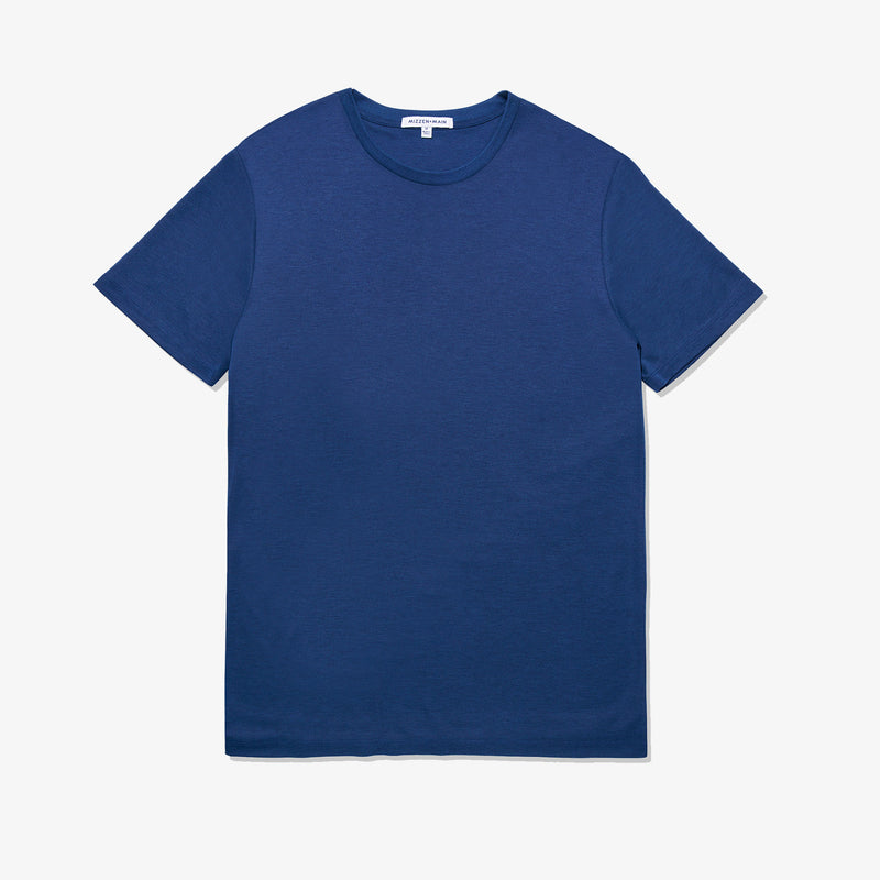 Upton Luxe Tee - Navy Solid, featured product shot