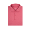 Heathered Red Polo