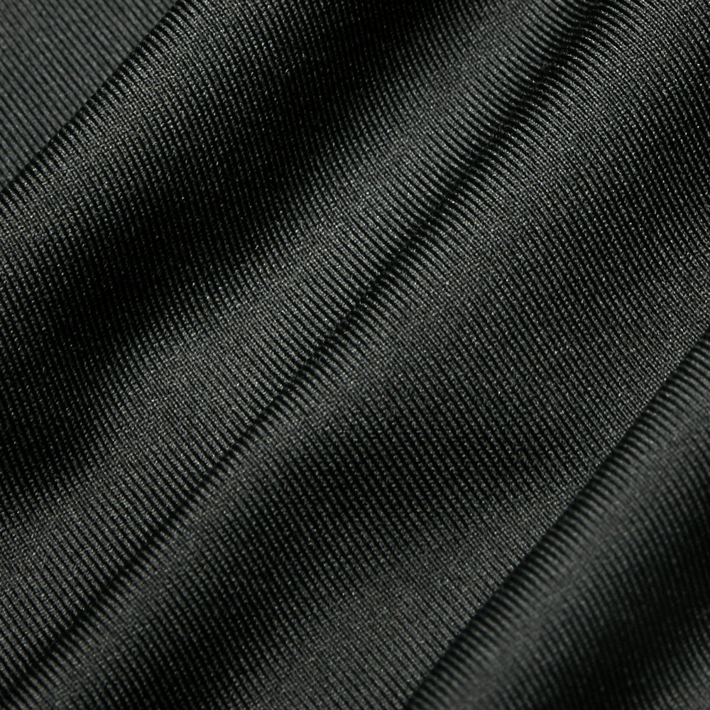 Phil Mickelson Golf Polo - Black, fabric swatch closeup