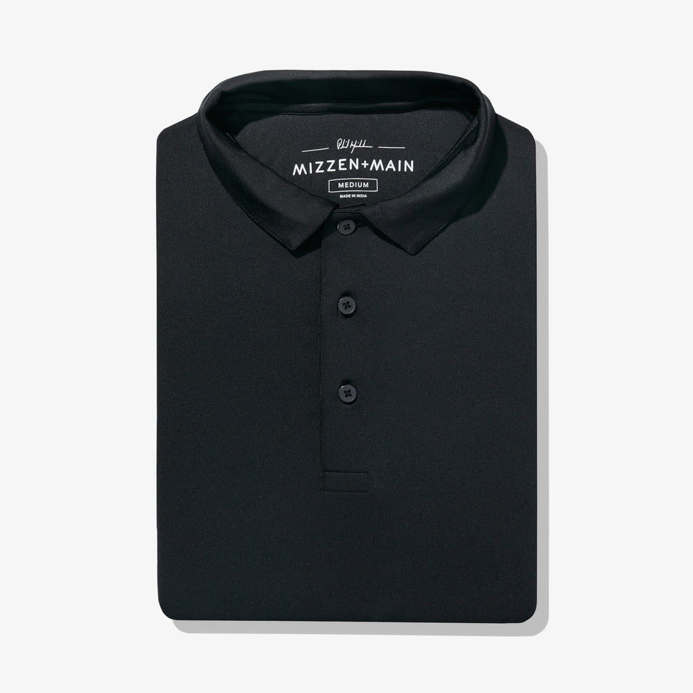 Phil Mickelson Golf Polo - Black, featured product shot
