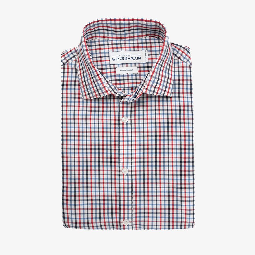 Leeward - Blue Red Multi Check, featured product shot