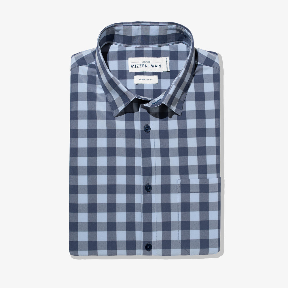 Leeward - Blue Check, featured product shot