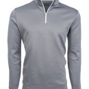 Sequoia Gray Performance Pullover Quarter Zip