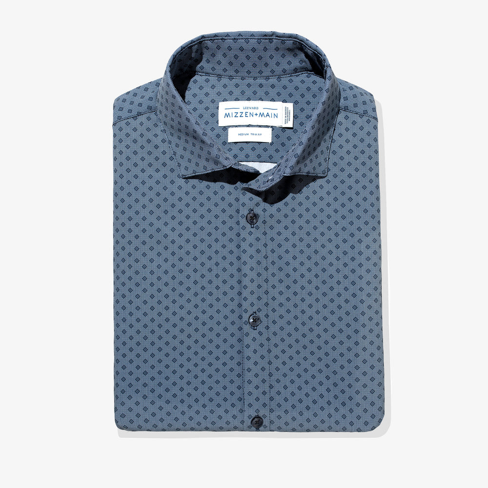 Spade - Navy Diamond Print, featured product shot