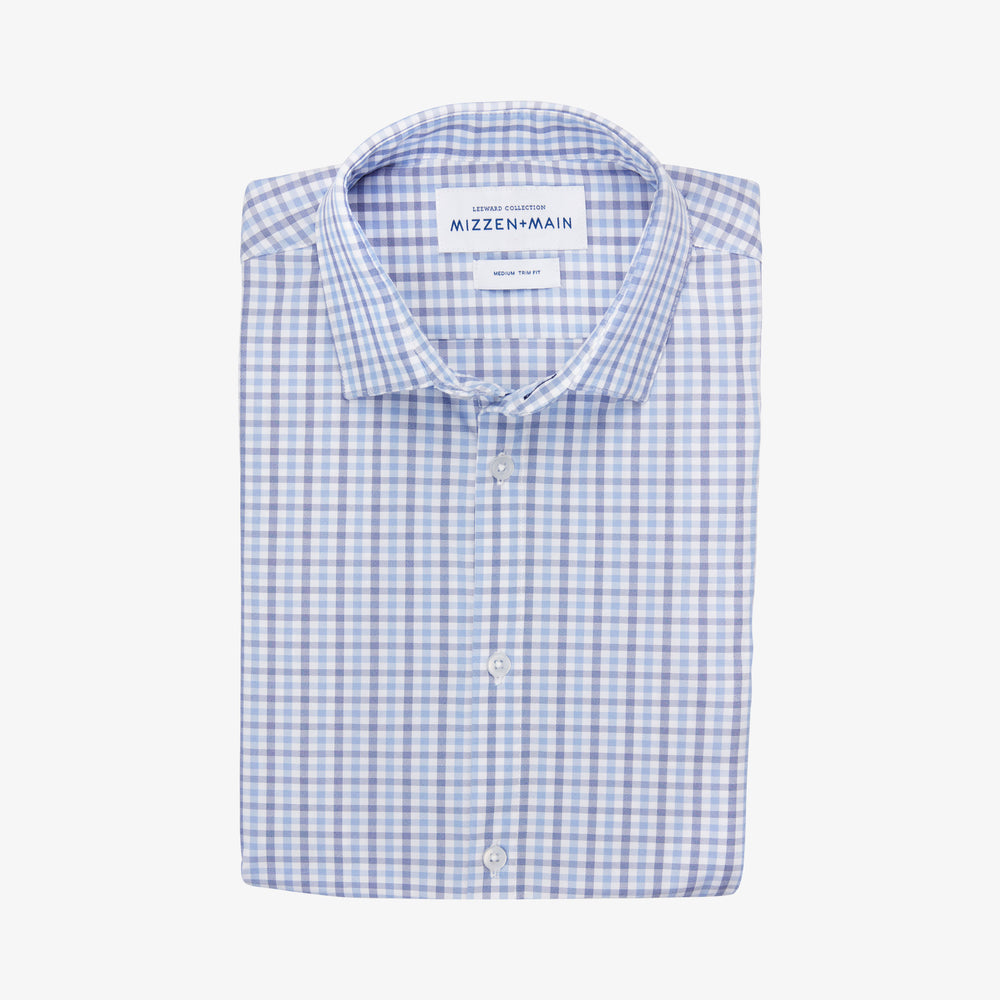 Leeward - Blue Multi Check, featured product shot
