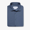 Cunningham Dress Shirt - Dark Navy Solid, featured product shot