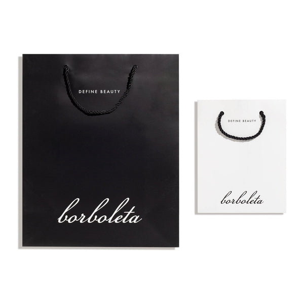 Retail Shopping Bags - Borboleta Beauty