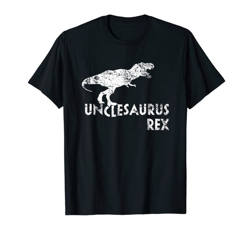 Unclesaurus Rex Shirt, Funny Cute Uncle Dinosaur Gift