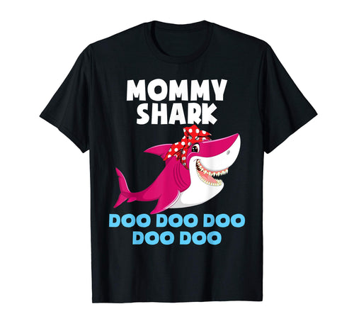 Mommy Shark Shirt Mothers Day Tee Baby Shark Family Gifts