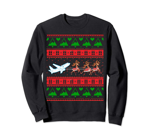 Best Christmas Thanksgiving Gift Pilots Aviation Xmas Gift Sweatshirt
