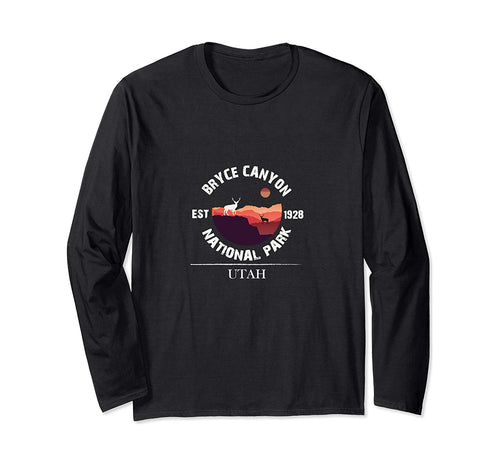 Deer in Sunset Bryce Canyon National Park Utah Long Sleeve T-Shirt