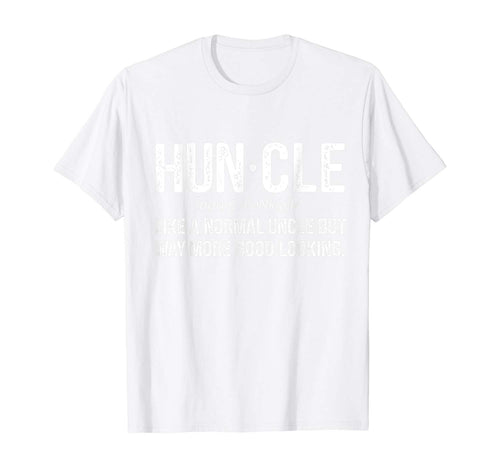 Huncle Definition Funny Gift For Hunting Lover T-Shirt