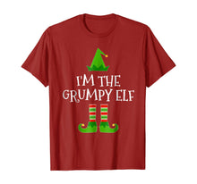 Charger l'image dans la galerie, I'm The Grumpy Elf Matching Family Group Christmas T Shirt