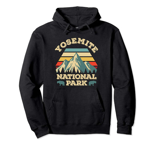Yosemite National Park Vintage Hoodie National Parks Gifts