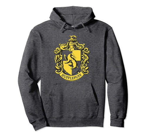 Harry Potter Hufflepuff Crest Pullover Hoodie