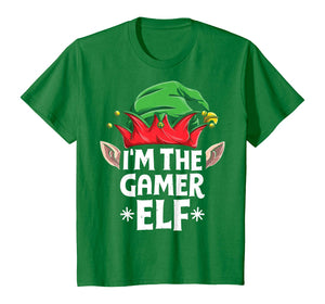 I'm The Gamer Elf Funny Christmas Family Matching Pajamas T-Shirt