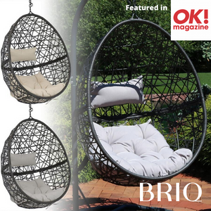 Hanging Egg Chair Single Swing Seat - Garden Hammock Chair