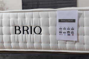 BRIQ Mattress - Natural 1000  pocket sprung