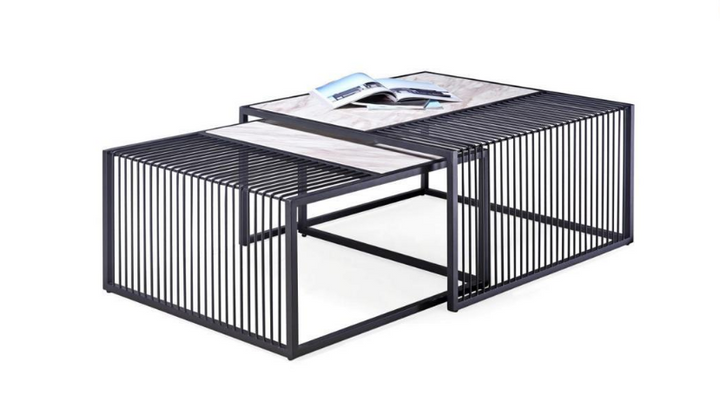 Black Duo Nesting Tables